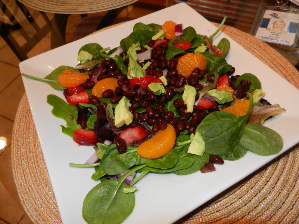 sweet and creamy salad