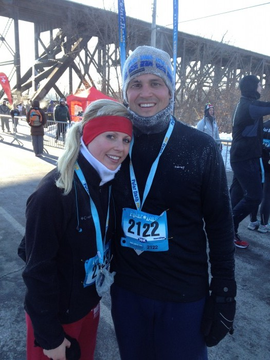 dana and melanie polar dash 2013